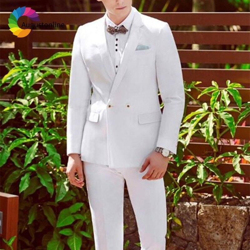 1 Men Suits Wedding Suits Costumes Mariage Homme Men\`s Wedding Suits Terno Masculino Costume Homme Mariage Men Suit with Pants Best Man Blazer Masculino Men\`s Suits Slim Fit Custom Made men suits (33)