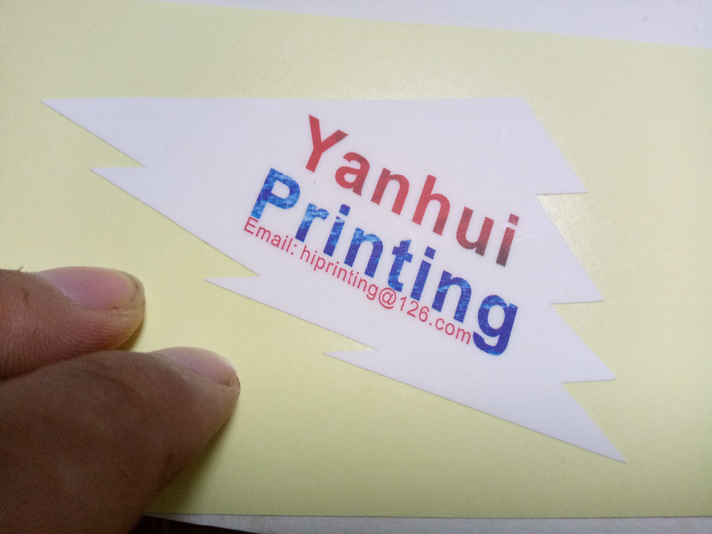 14 designs sticker label printing custom