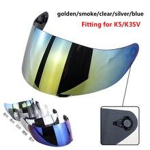 K3SV K5 K1 мотоциклетный шлем козырек Capacete Glasse шлем объектив КАСКО щит Шлем аксессуары Запчасти