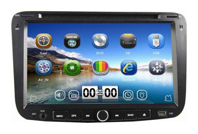 "7"" Car dvd player For Emgrand EC7 2012 2013 with GPS Navigation Bluetooth Radio Audio Video 3G USB Port Russian menu language"