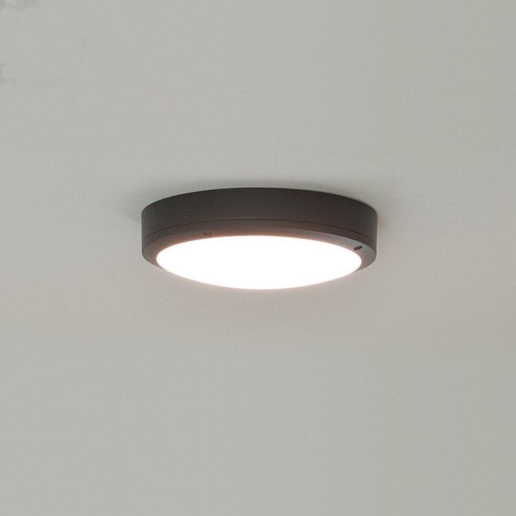 Outdoor Ceiling Light: Fashion modern 15W 220V outdoor led ceiling light waterproof moistureproof light  outdoor balcony gazebo garden lights,Lighting