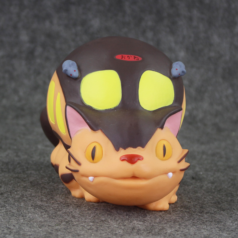 8 20cm Hayao Miyazaki Anime My Neighbor Totoro Cat Bus Toy Piggy Bank Saving Bank Money