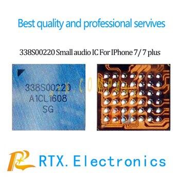 2pcs/lot Original new IC 338S00220 for iPhone 7 7Plus microphone MIC small audio amplier IC speak am