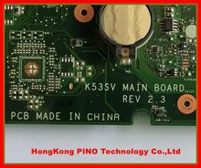 Original New K53SV motherboard for ASUS K53SV K53SD motherboard MAIN BOARD REV 3.0 100% Tested with 4 vedio memorries