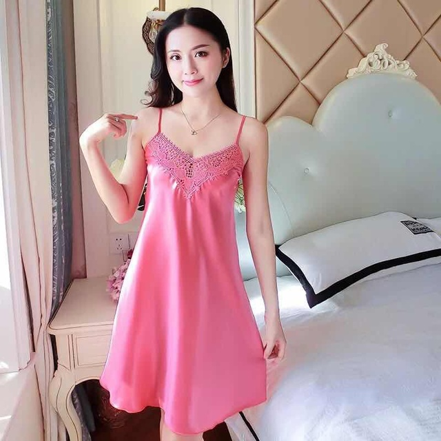 Sexy silk nightie