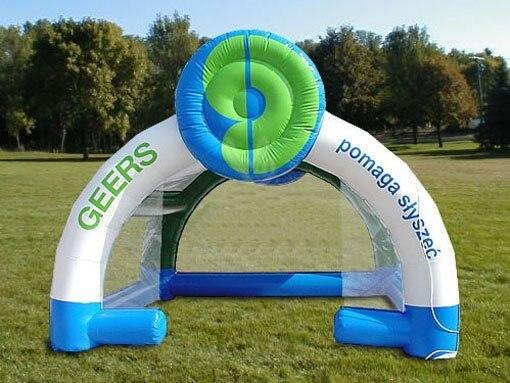 TT02 Рекламные надувные Событие палатки/Geers Палатка 0.55 мм ПВХ 16.5ftLx13ftWx13ftH с CE/UL воздуходувки 100% Гарантия Качества