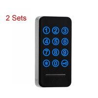 2 Bộ Thông Minh Điện Tử Tủ Locker Cảm Ứng Bàn Phím Mật Khẩu Thẻ EM Key cho Trang Chủ Swimming Tắm Hơi Hồ Bơi Phòng Tập Thể Dục CL16006