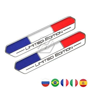 Bandera de Rusia, España, edición limitada, pegatina, funda de tanque de motocicleta para Aprilia Ducati Yamaha Honda Suzuki Kawasaki KTM Benelli
