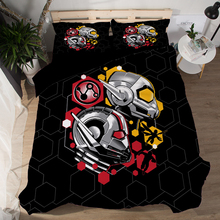 Marvel Avengers Alliance 3D Ant-Man bedding set  Double Queen King comforter sets bedclothes bed linen