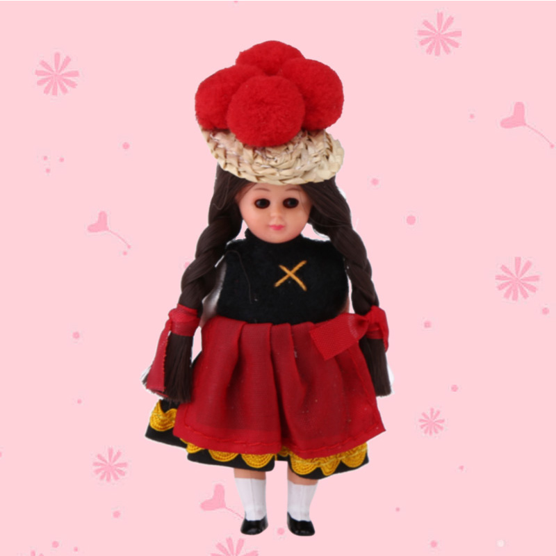 3inch Baby Ethnic Dolls Reborn Kids Toys France Clothes ...