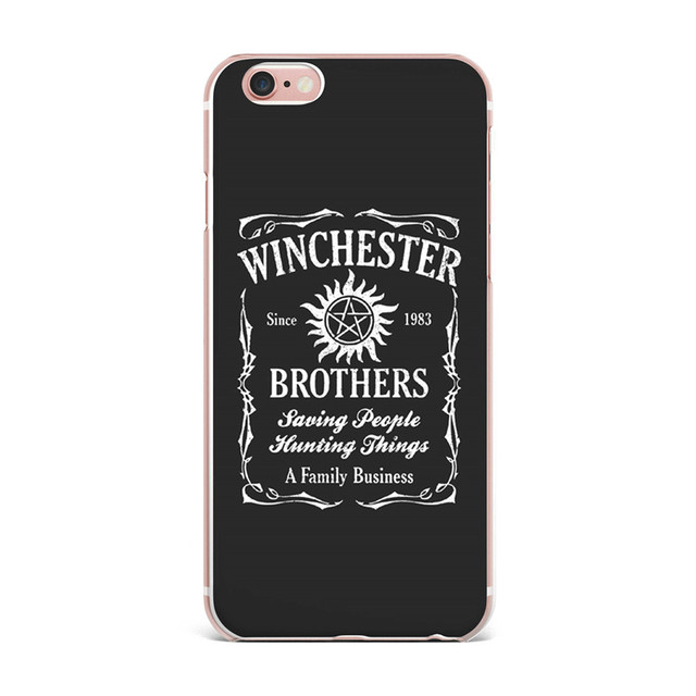 Supernatural Case Cover For iPhone