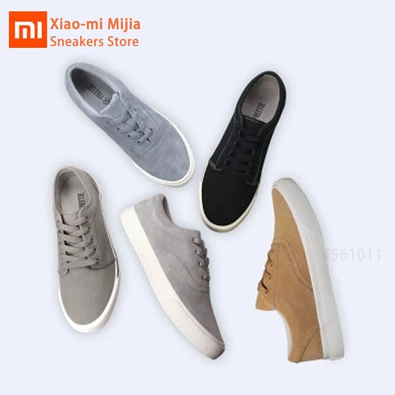 Xiaomi Mijia FREETIE chaussures de sport et de loisirs semelles EVA épaisses respirant course espadrille résistant à l'usure chaussures à fond plat homme