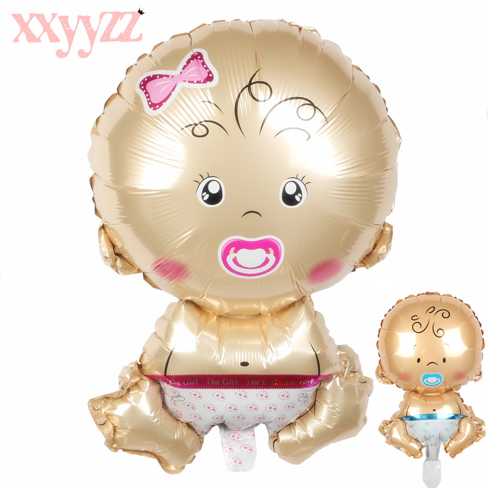 Xxyyzz Mini Boy Girl Balloons Children Baby Aluminum Helium Balloon