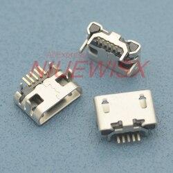 50 шт. micro USB 5pin jack Ox horn Four leg plate Розетка Гнездо USB коннектор Ox horn длинная игла mini usb Бесплатная доставка
