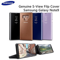 Official Genuine Original Samsung Galaxy Note9 S View Filp Cover Clear View Standing Case EF ZN960 Brown Blue Purple Kickstand