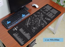 black mouse pad 900x300mm pad to mouse big notbook computer win94 mousepad csgo gaming padmouse gamer to keyboard mouse mat