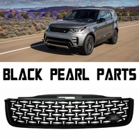 Car Styling Auto Parts Tuning Front Middle ABS Grille Grill Fit For Land Rover Discovery 5 Vehicle 2017 2018 year