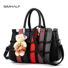 SIMHALF Brand New 2017 Women Messenger Bags Fashion Women Leather Handbags Medium Shoulder Bag Female Tote Women Bags Sac a main