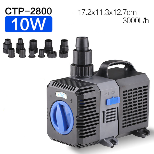 3000L/H SUNSUN GRECH CTP-2800 Adjustable ECO Water Circulation Pump Submersible Water Fountain Pumps for Aquarium Fish Tank