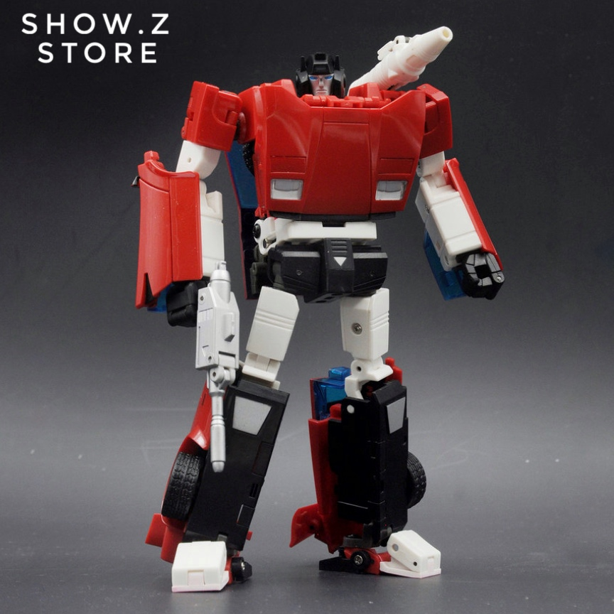 [Show.Z Store] BadCube BC OTS-14 Warrior Steamroll Sideswipe Transformation Action Figure