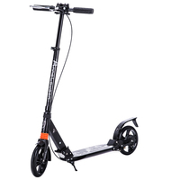 Самокат с двойной подвеской для взрослых подростков ручной тормоз скутер Push складной самокат 8 дюймов колесами идеально подходит для город