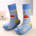 Цена от производителя горячая распродажа розничная 1 пара детские носки с резиновой подошвой пол носком с животными дети / малыши девушки / мальчика носки