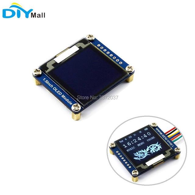 """1.5 インチ 1.5 """"有機 El 画面表示モジュール 128 × 128 SSD1327 SPI I2C IIC arduino のラズベリーパイ"""
