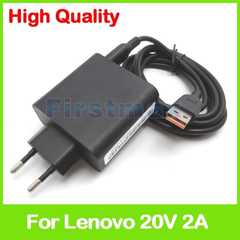 20V 2A 5.2V 2A USB AC Power Adapter for Lenovo Yoga 3 Pro Ultrobook tablet charger 36200572 ADL40WDA ADL40WDB 36200573 EU Plug 20v 2a 5 2v 2a usb ac power adapter for lenovo yoga 3 pro 13 5y70 13 5y71 tablet pc charger 36200566 adl40wcg adl40wch 36200567