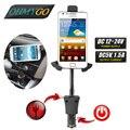 Cargador de coche Universal del sostenedor del montaje con 360 grados de rotación para el iPhone 6 Samsung S6 GPS USB 5 V 2.1A HC53