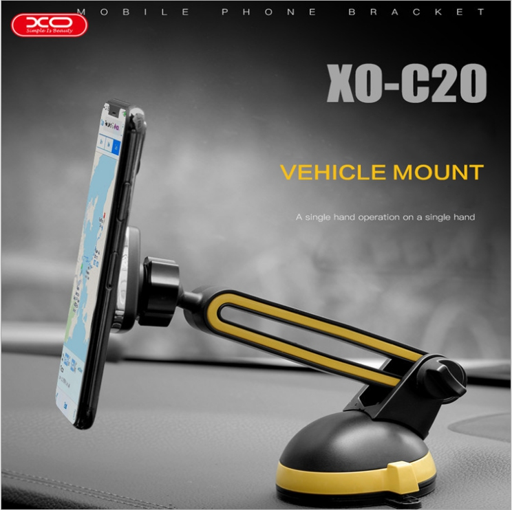 XO Brand Vehicle Mount Easy Operation Magnetic Car Phone Holder