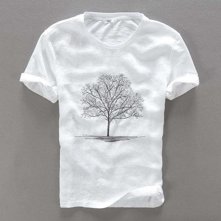 Striped Crew Neck for Ultimate Comfort T-Shirt,Primitive Culture Ge