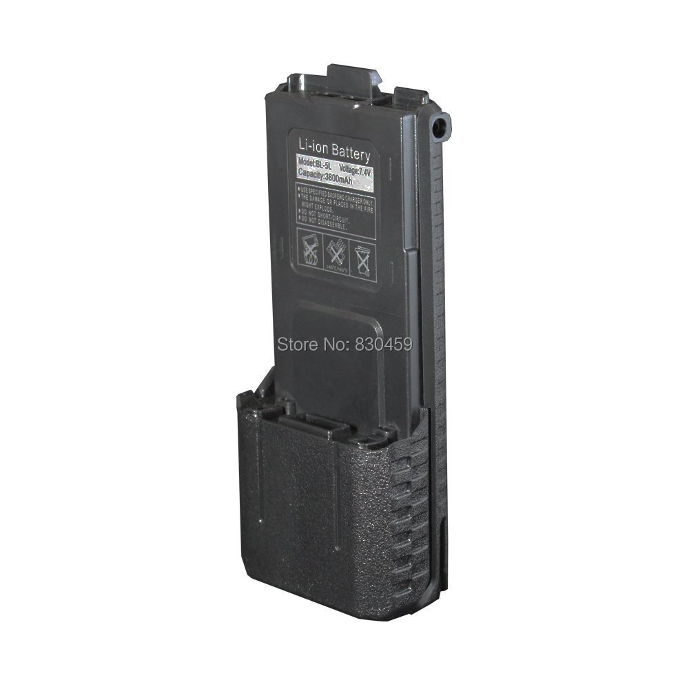 Amateur Radio BaoFeng Uv5r  BL-5 7.4V 3800 MAh Li-ion Battery For Walkie Talkie Baofeng UV-5R BF-F8 TYT Th-f9