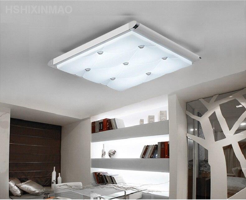 Plafoniere A Led Per Soggiorno : 2017 surface mounted moderna plafoniere a led per soggiorno luce