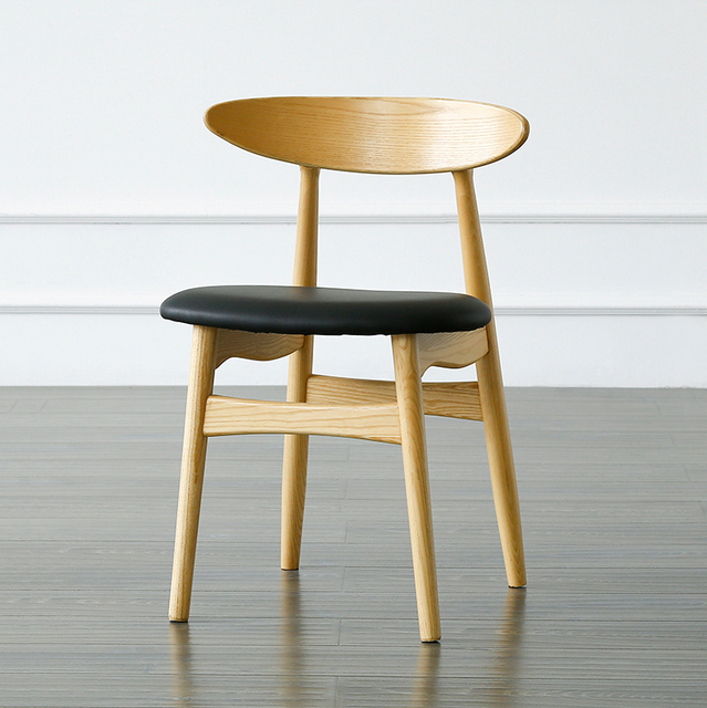 Soggiorno per il tempo libero Cafe sedia di legno massello Modo ...