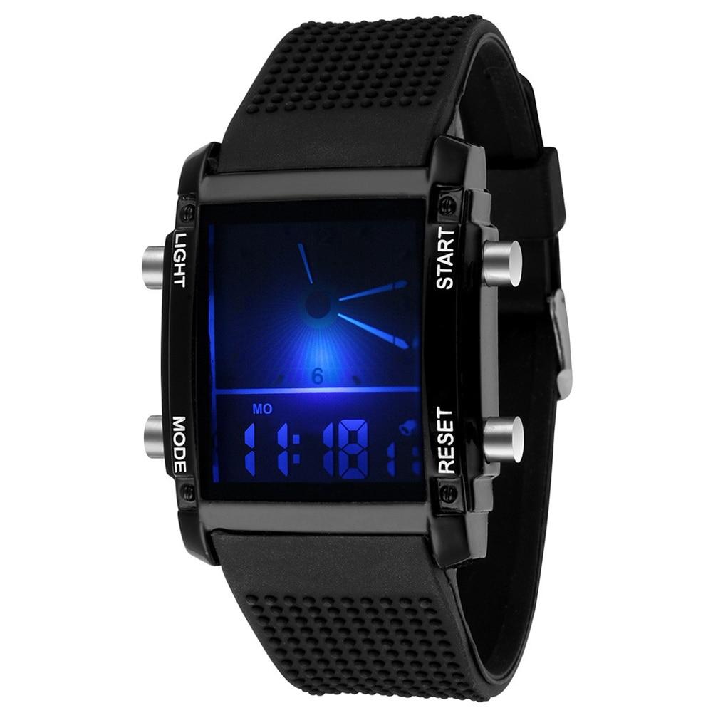 Unisex Digital Watch Men Sports Watches Women Waterproof LED Wristwatch Count Down Watch relogio led colorido