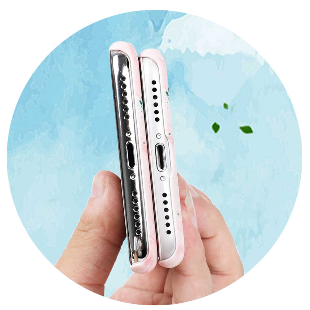 LOVECOM винтажный градиентный мраморный текстурный чехол для телефона для iPhone XS Max XR X 6 6S 7 8 Plus 5 5S SE Матовый Жесткий чехол-накладка из поликарбоната