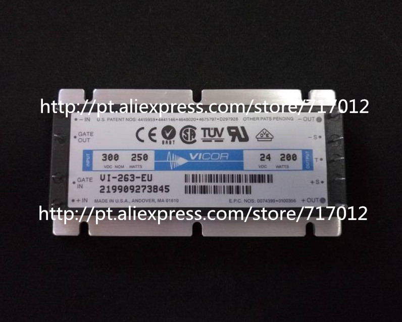Free Shipping VI-263-EU   DC/DC: 300V-24V-200W Can directly buy or contact the seller