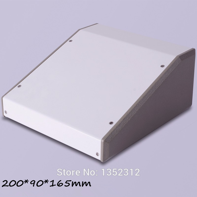ФОТО 1 piece 200*90*165mm Iron enclosure project box for device enclosure Iron electronics box iron
