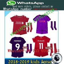 0bd59d1e1a2 LISM 2019 Top AAA Thai Full Liverpools Children football jersey kit sock 18 19  Home