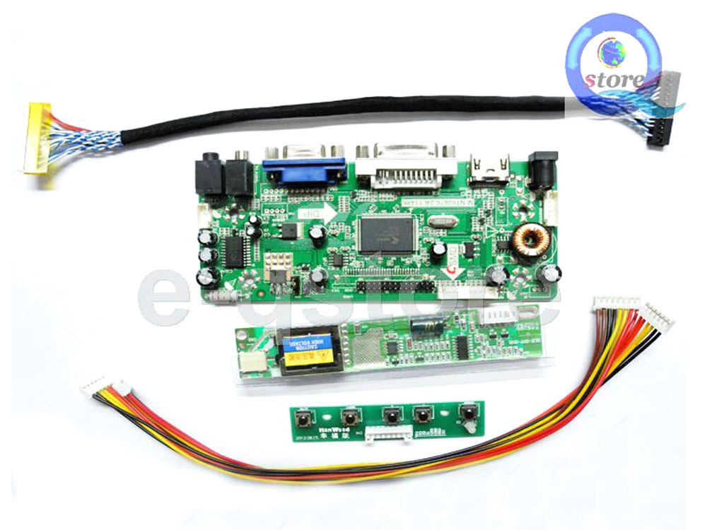 Details about (HDMI+DVI+VGA) Driver LVDS Inverter Kit - Convert a Bare  Laptop LCD into Monitor