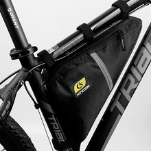 Bicycle Bag Triangle Bike Bags Large Capacity Cycling Frame Front Tube Waterproof Package Ourdoor Riding Accessories