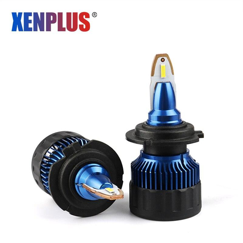 XENPLUS Super Mini Voiture Lumière H1 H3 880/881 H7 H8/H9/H11 H10/9005/HB3 9006/HB4 9012 5202/H16 H4 H13 9004 9007 Antibrouillard lampe à LED