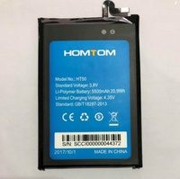 100 Original HT50 Battery 5500mAh Replacement HOMTOM HT50 Mobile Phone Battery