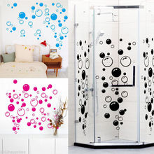 ZooArts DIY Bubbles Sticker Wall Art Kids Bathroom Washroom Shower Tile Removable Decor Home Decal Mural Decorative Stickers