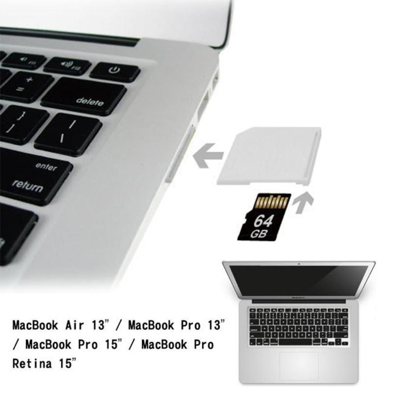 Microsd Adapter For Macbook Air MicroSD TF To SD Card Memory Card Portable Converter Adapter