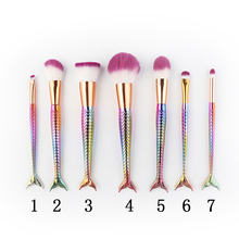 Make Up Brushes Cosmetics Soft Synthetic Hair