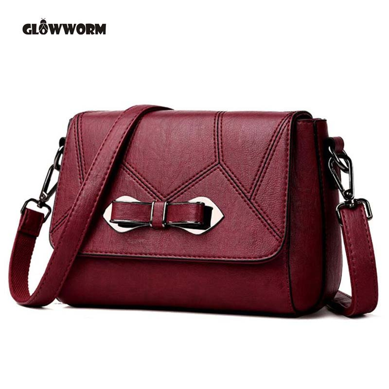 Brand 2018 NEW Leather Luxury Handbags Women Bags Designer Shoulder crossbody Bags Casual Tote Female bag hand Bags sisjuly 2017 new leather bag women handbags casual tote luxury brand designer oil wax lady shoulder bags female sac a main