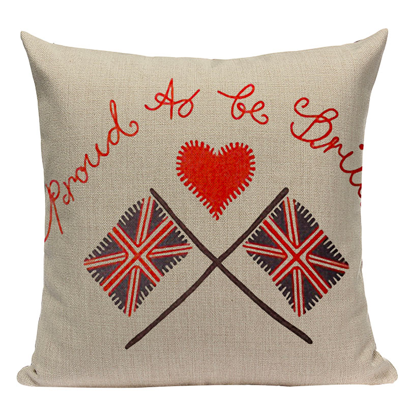 England, London, Cushion Case Covers