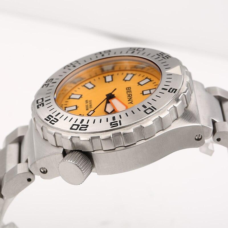 Berny Mannen Horloge Automatische Mechanische Heren Horloges Mode Top - Herenhorloges - Foto 2