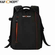 K F CONCEPT Camera Backpack Small Size High Quality Waterproof Business DSLR SLR Bag for Nikon